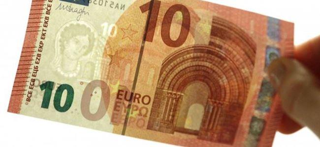 Yeni 10 Euroluk banknotlar yarın tedavüle girecek