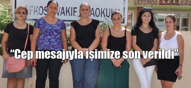 Vakıf Anaokulu'nda 9 öğretmenin isyanı