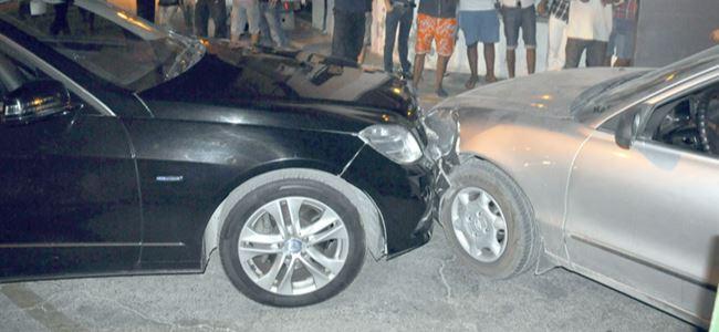 Başbakan kaza geçirdi
