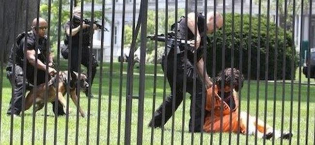 Beyaz Saraya girerken yakalandı