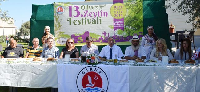 13'üncü Girne Zeytin Festivali  başlıyor