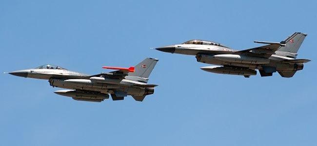 Danimarka Parlamentosu F16ların gönderilmesini oylayamadı