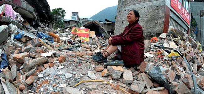 Çinde 6,6 büyüklüğündeki deprem