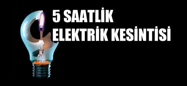 Lefkoşa Pazartesi ELEKTRİKSİZ