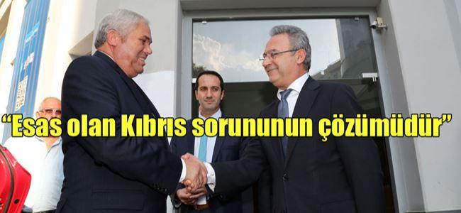 Yorgancıoğlu DİSİ'yi ziyaret etti