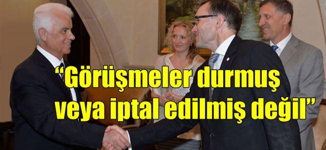 Eroğlu BM Özel Danışmanı Eide ile görüştü