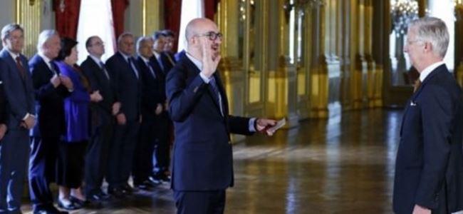 Charles Michel Hükümeti görevine başladı