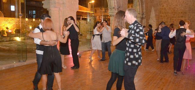 Tango'nun büyüsü Bedesten'de yaşandı