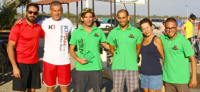 Sporcular Dikelya'da yarıştı