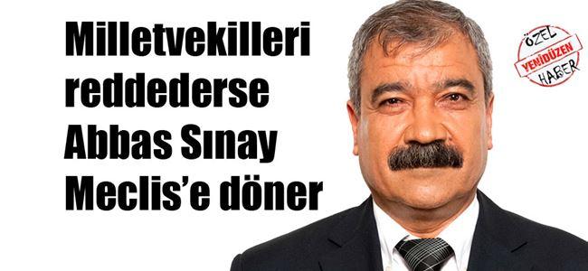 Sınay'ın istifası Pazartesi Genel Kurul'da