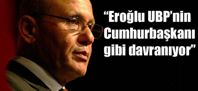 Talat Eroğlu'nu eleştirdi