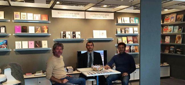 Kıbrıs kitapları Frankfurt Kitap Fuarı'nda