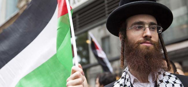 Yahudiler, Filistinlilere yönelik ırkçı saldırıları protesto etti.