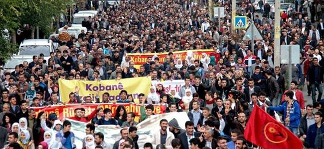 Avrupa Kobani için yürüdü