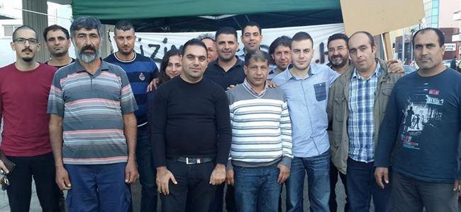 CTP'li gençler KTHY çadırını ziyaret etti