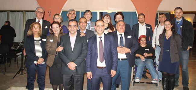2 belediye için Ledra Palasta gece düzenlendi