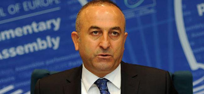 Çavuşoğlu, Kerry ile Kıbrısı görüştü