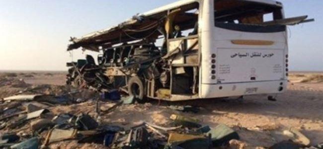 Trafik kazasında 16 öğrenci öldü