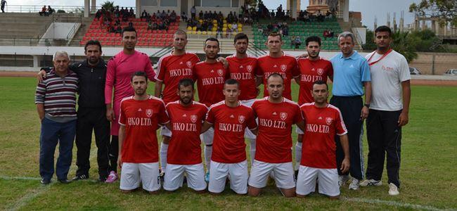 İkinci Lig'de Girne Halk Evi rahat