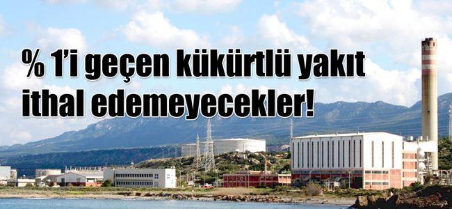 Elektrik santrallerine sınırlama