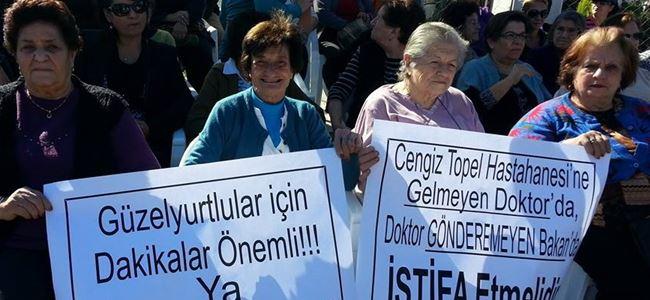 """""""Cengiz Topel Hastanesi'ni Sahiplenme"""" mitingi yapıldı"""