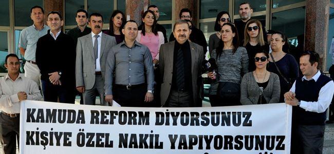 İlçe kaymakamlıkları 'SÜRESİZ' grevde!