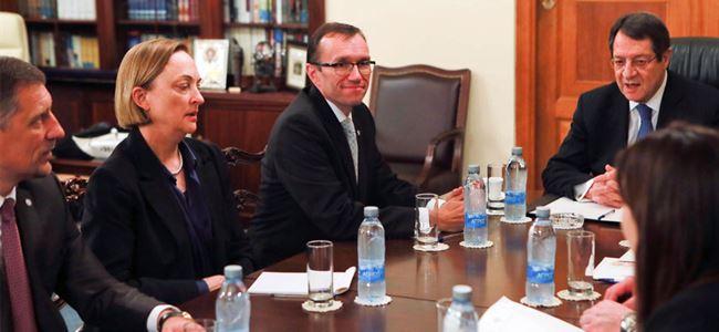 Anastasiadis'den Eide'ye doğal gaz önerisi