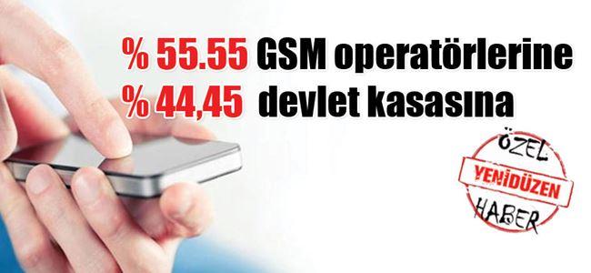GSMde vergi gerçeği