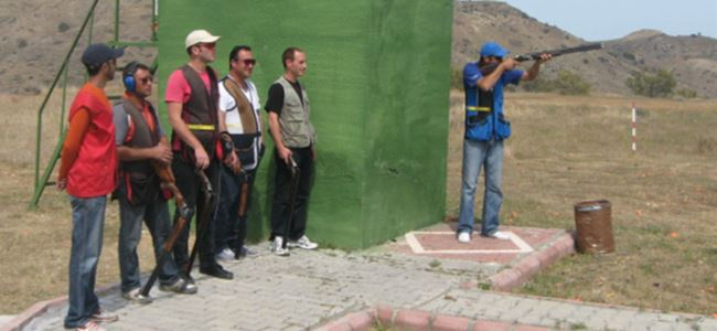 Atıcılar Lefke'de yarıştı
