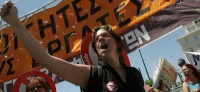 Yunanistanda genel grev yarın
