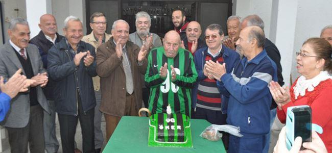 Buçaner'e sürpriz doğum günü partisi