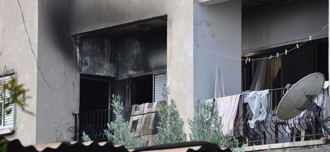 Yangında ev kül oldu