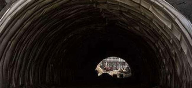 Çinde tünel çöktü