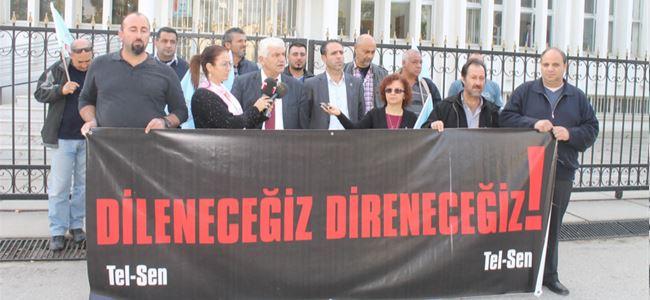 Tel-Senden Ulaştırma Bakanlığı'na siyah çelenk