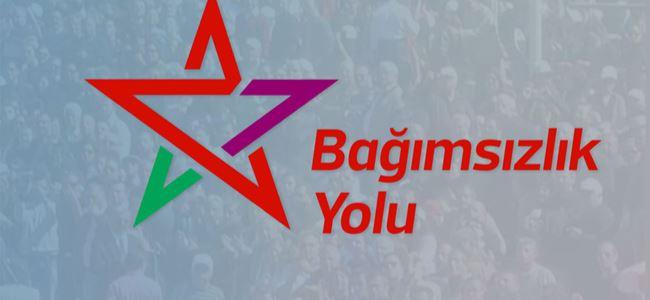 Yeni siyasi bir örgütlenme Bağımsızlık Yolu kuruldu