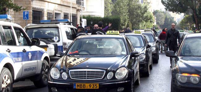Taksicilerin boykotu kargaşaya neden oldu