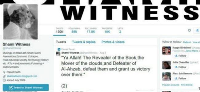 IŞİD yanlısı tweet atan @shamiwitness gözaltında