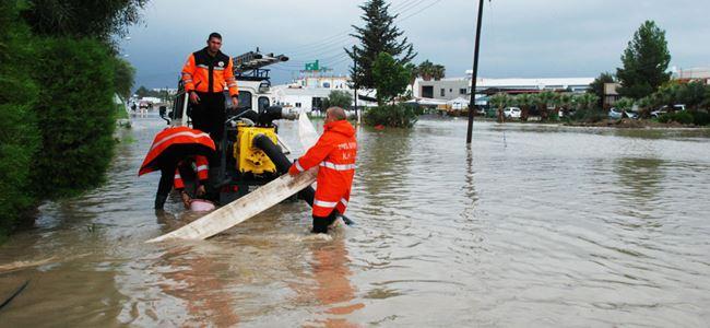 En fazla yağış Alevkaya ve Alsancak'ta