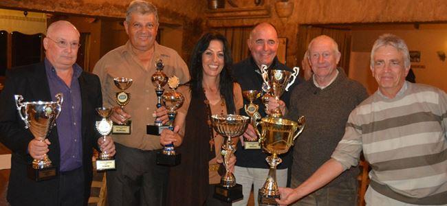 Başarılı golfçular ödüllerini aldı