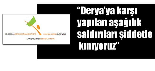 Federal Kıbrıs İnisiyatifinden kınama