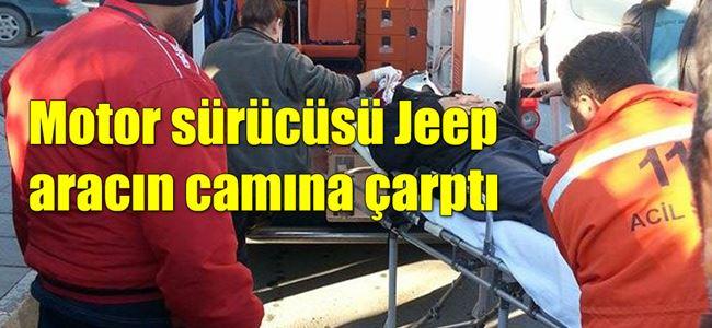 Sanayi'de korkutan kaza!
