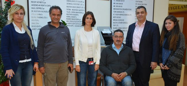 İkinci durak Kıbrıs Türk Ortopedik Özürlüler Derneği