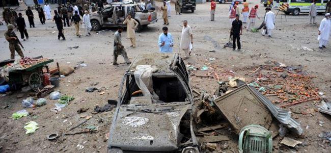 Bombalı saldırıda en az 30 yaralı