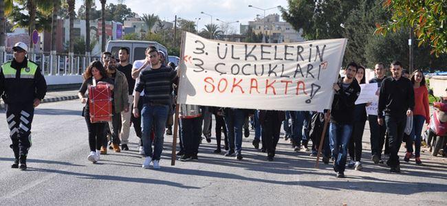 """""""BİZLERE DE BURS HAKKI TANINSIN"""""""
