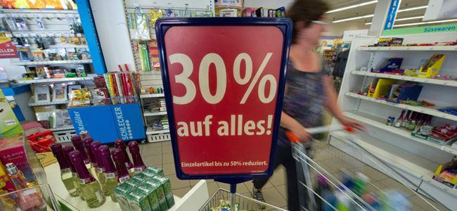Almanyada enflasyonda rekor düşüş