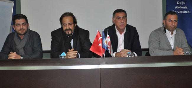 """DAÜ'de """"Medyada Spor Basını"""" konuşuldu"""