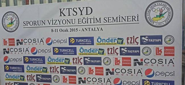 KTSYD üyeleri Antalya yolcusu