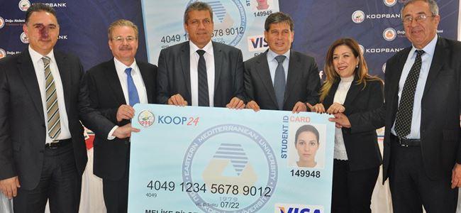 """""""DAÜ Kampüs Kart"""" tanıtıldı"""