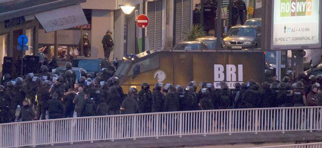 Paris'te market saldırganı öldürüldü