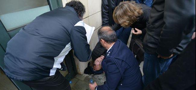 Kıbrıs Havayolları çalışanları eyleminde arbede